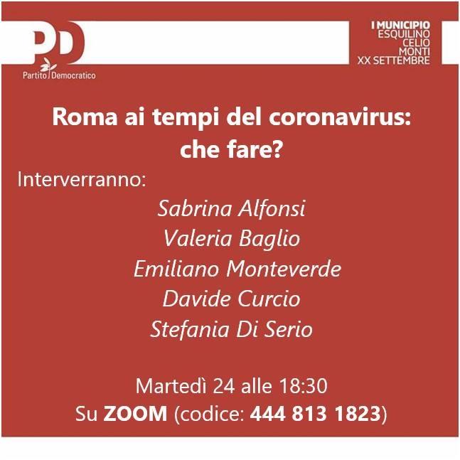 Roma e Coronavirus