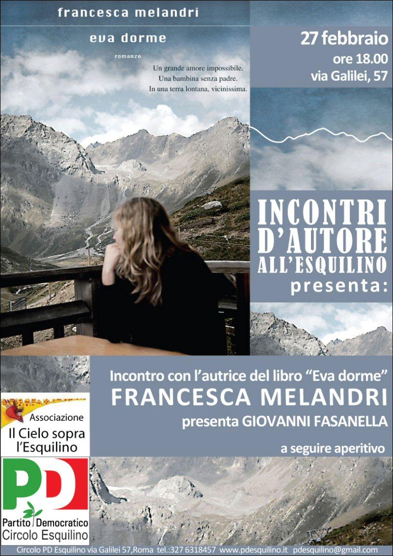 Incontri d'autore con Francesca Melandri