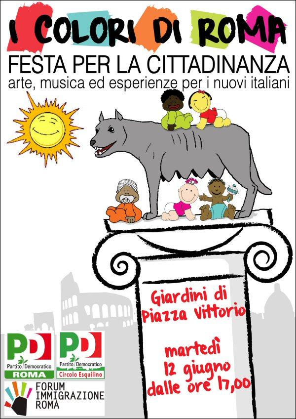 Martedì 12: I Colori Di Roma a Piazza Vittorio