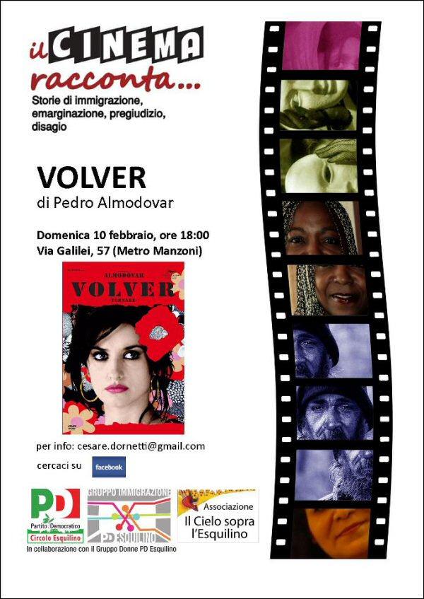 Domenica 10, Febbraio Il Cinema Racconta... VOLVER